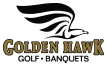 Golden Hawk Golf Course and Banquets Logo